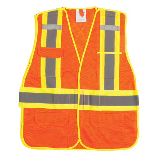 Flame-Resistant Hi-Viz Vest SGF136 | Zenith Safety Products