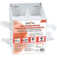 Lens Cleaning Station | Zenith Safety Products