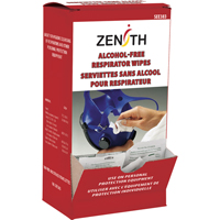 Respirators & PPE Cleaning Towelettes SEE383 | Zenith Safety Products