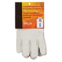 Grain Cowhide Drivers Fleece Lined Gloves SM619R | Zenith Safety Products