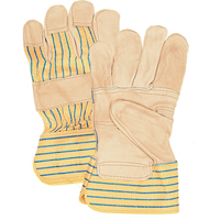 Grain Cowhide Fitters Patch Palm Gloves SAP230 | Zenith Safety Products